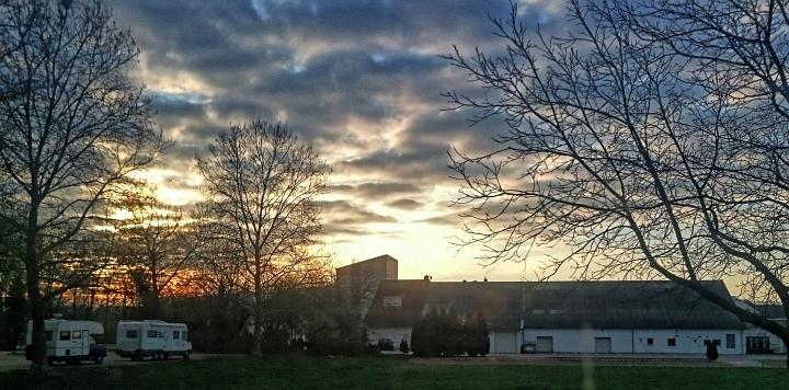 Sonnenaufgang in Emmendingen