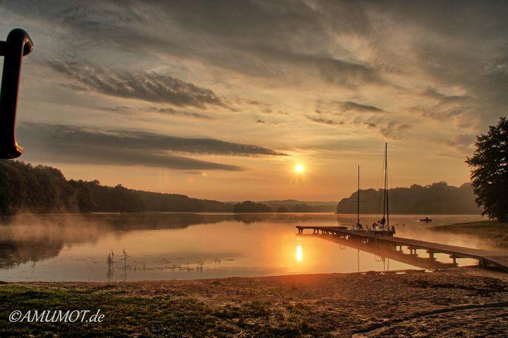 Ein Traum Sonnenaufgang zum Abschied in Pommern