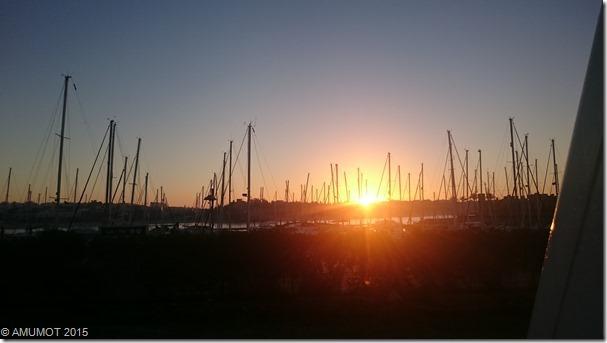 Sonnenaufgang in Portimao