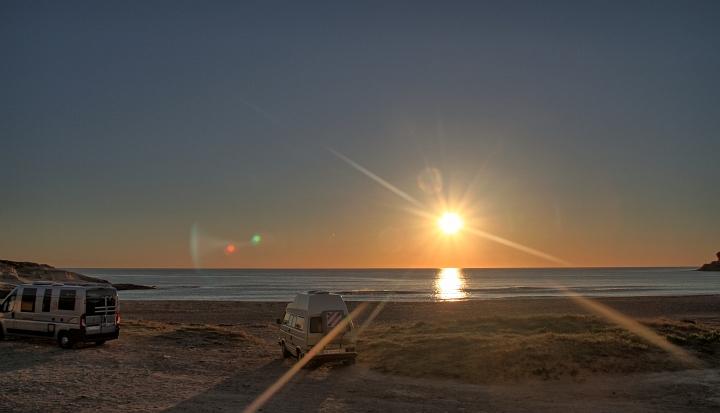 Traumhafter Sonnenaufganz am Cabo de Gata