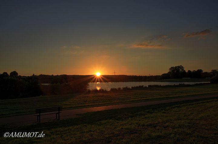 Sonnenuntergang in Bramsche