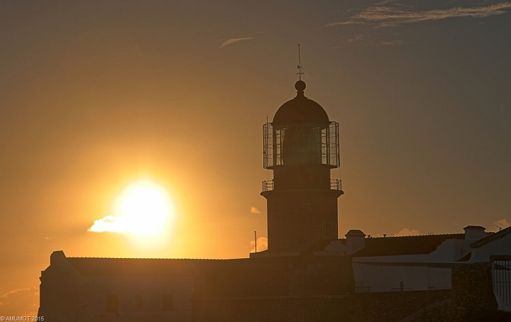 Sonnenuntergang sagres überwintern