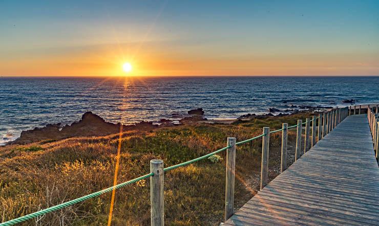 Sunset portugal - porto wohnmobil