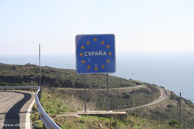 Spanische Grenze