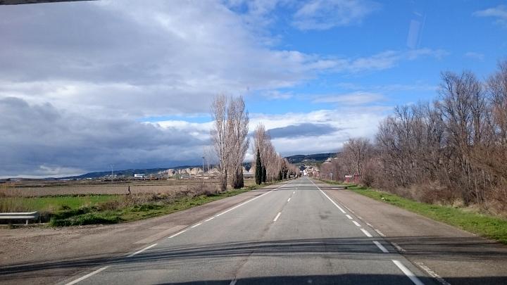 Auf dem Weg nach Zaragoza