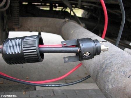 16mm² kabel für die Stromversorgung