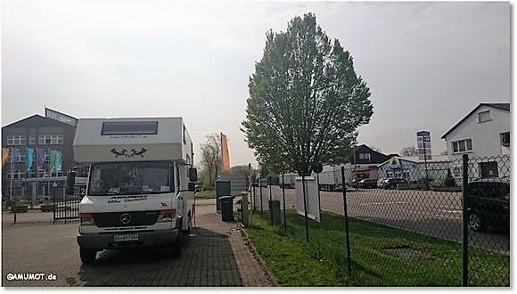Wohnmobilstellplatz Speyer