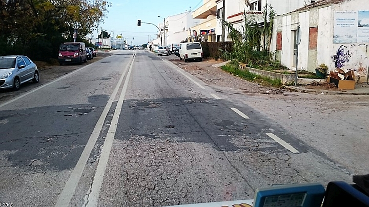 N125 an der Algarve