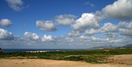 Abschied vom Atlantik, hier in Tarifa beim südlichsten Lidl Europas
