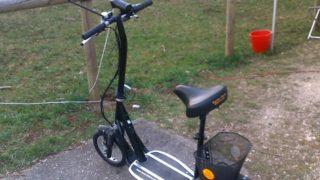 Mobil mit Strom – Tante Paula Elektroroller (E-Scooter)