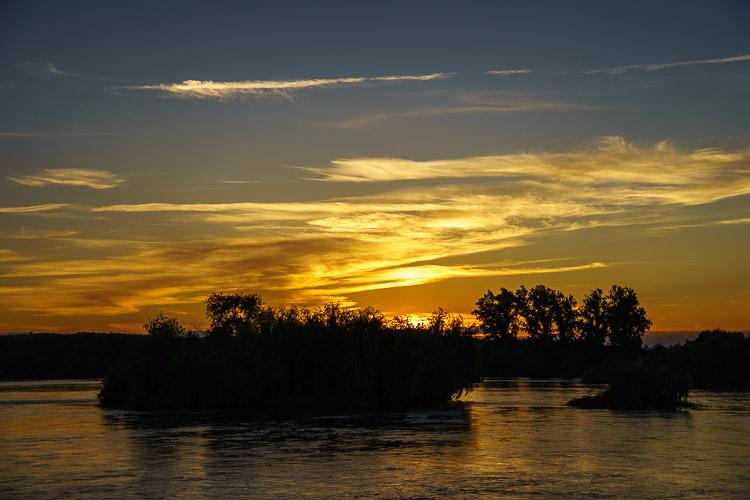 sunset tejo