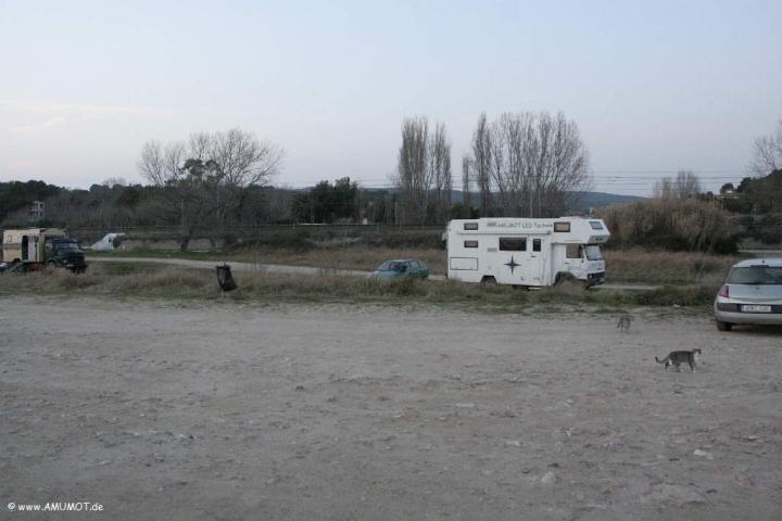 Iveco Wohnmobil am Strand