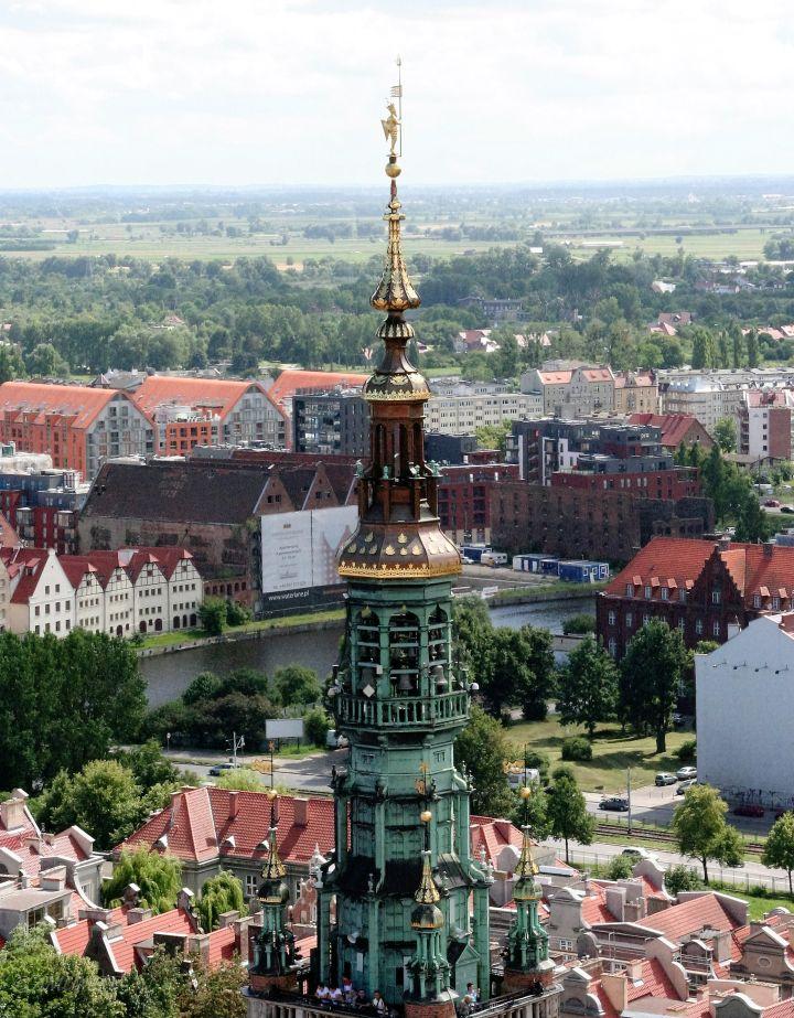 Turmdetail vom Rathaus