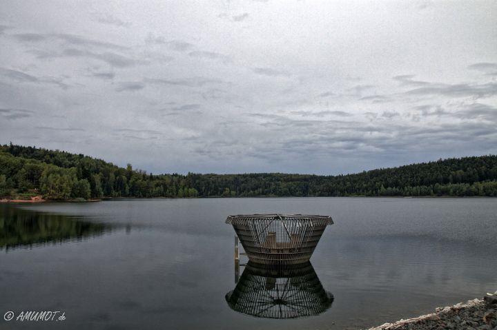 Überlauf Lac de Pierre Percée