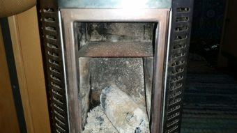 Mini Holzofen im Camper opimieren flammblech