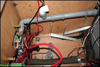 Ausbau der Batterie im Wohnmobil