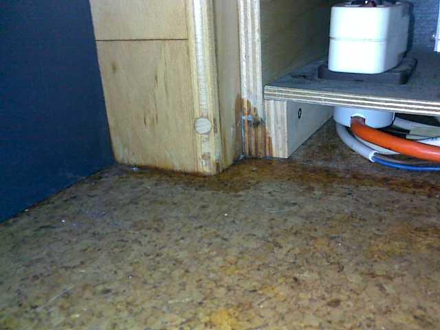 Wasserschaden im Wohnmobil