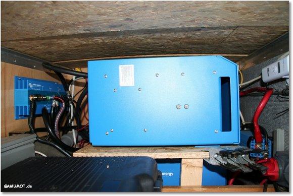 Wechselrichter im Wohnmobil 12V