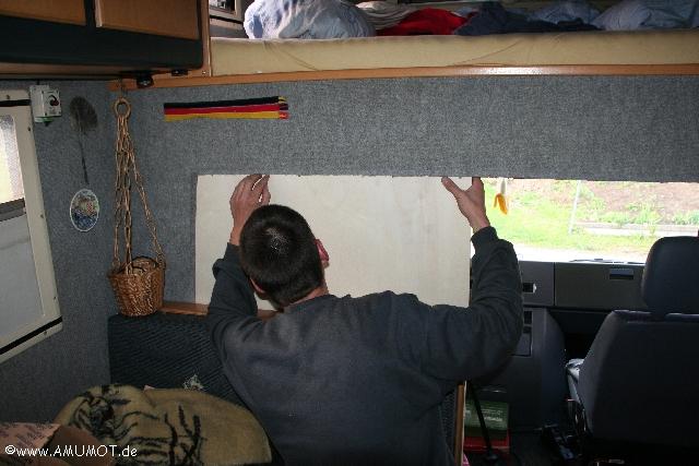 öfter mal nachmessen im Wohnmobil