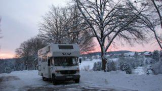 Leben im Wohnmobil – Winter in Deutschland – Technikartikel