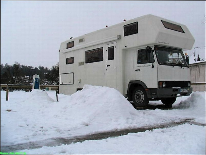 Wintercamping in Deutschland