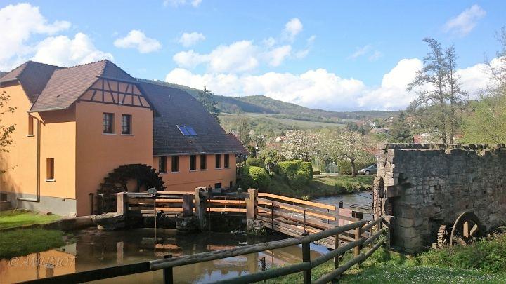 Wassermühlen am Bach
