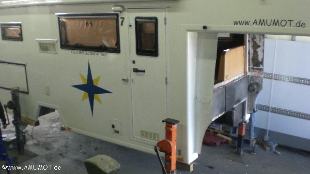 Wohnmobil Kabine abnehmen
