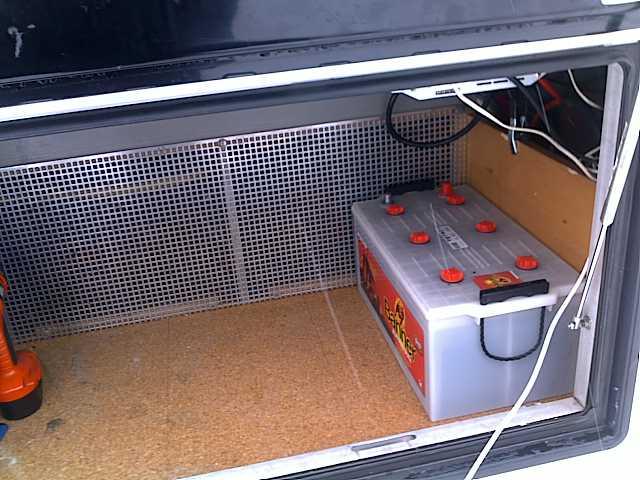Wohnmobilbatterie