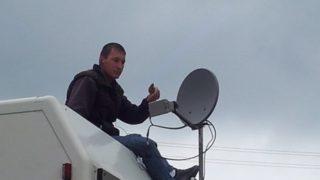 Das Leben im Wohnmobil und Internet via Satellit
