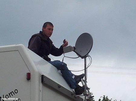 Internet via Satellit von Filiago