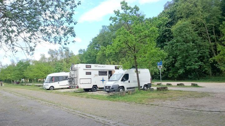 Wohnmobilstellplatz in Neustadt an der Aisch