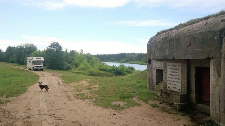 Bunkeranlagen in Nowogród