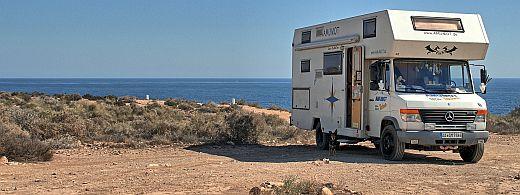womo reiseberichte spanien