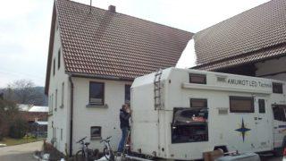 Reisevorbereitung zur großen Arbeits-Deutschlandtour