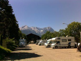 Wohnmobilstellplatz in Garmisch-Partenkirchen am Wank