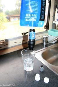 Sawyer Wasserfilter fürs wohnmobil