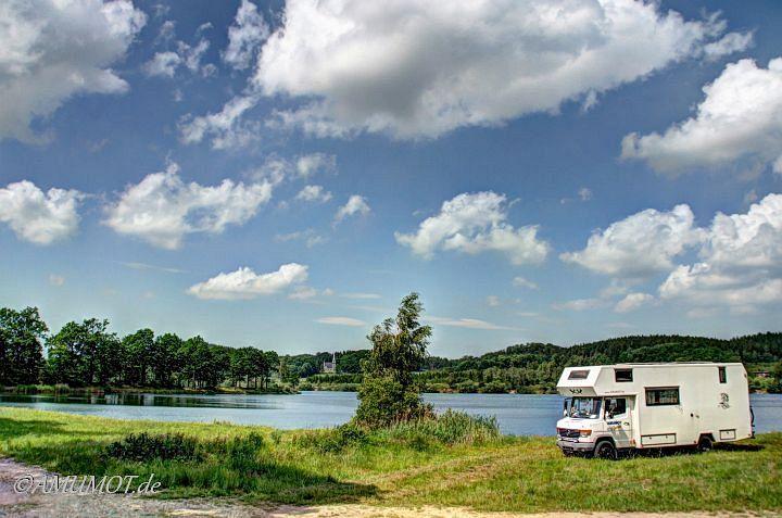 Freistehen am See in Polen