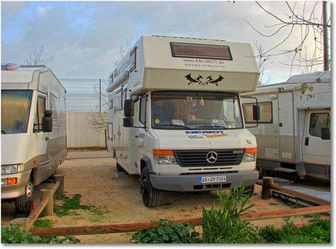Wohnmobilstellplatz in Lagos