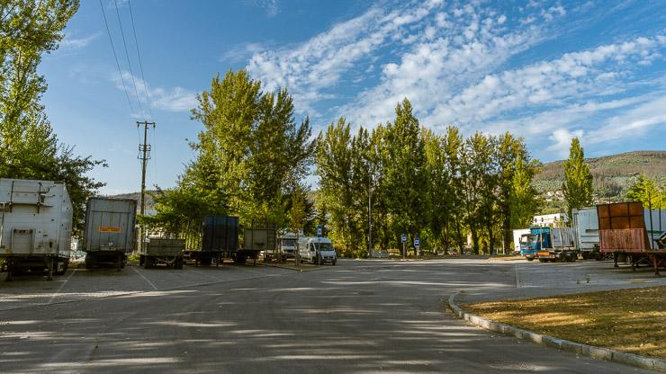 Stellplatz für Wohnmobile in Arouca