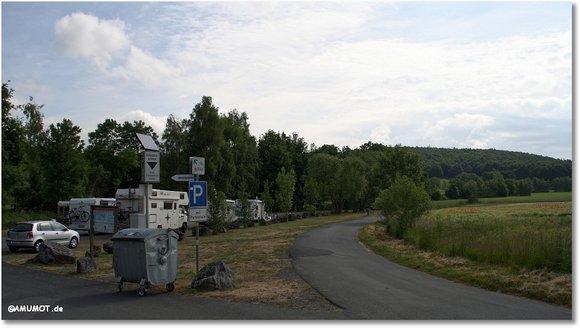 Reisemobilstellplatz am Edersee Rehbach