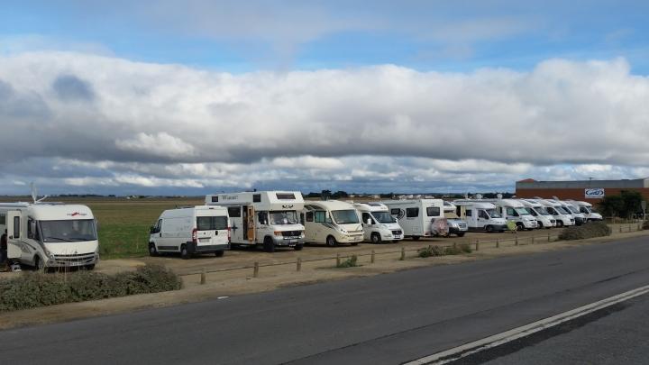 Le Port Du Bec Wohnmobil Stellplatz
