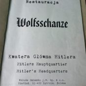 Restaurant Wolfsschanze