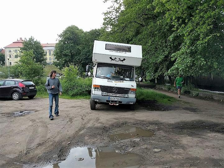 mit dem wohnmobil nach jelenia gora