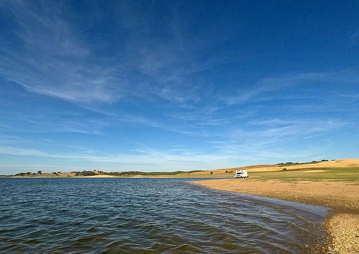 Neuer Platz am See - ganz für uns alleine